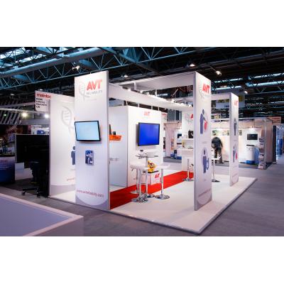empresa de design stand de exposição em uma mostra