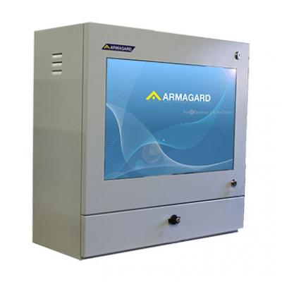 Estação de trabalho informática industrial de Armagard