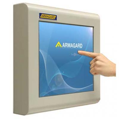 monitor industrial de tela sensível ao toque de Armagard