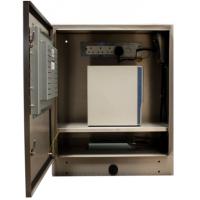 Tela de toque robusto SENC-750 vista frontal aberta