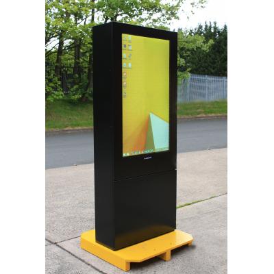 Display digital Armagard ao ar livre à esquerda