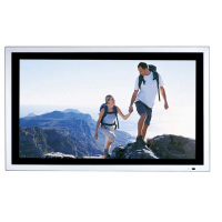 Display de publicidade em LCD da vista frontal do Armagard