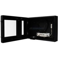 monitor LCD cerco visão aberta da unidade