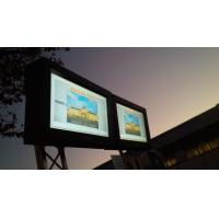 Ao ar livre caixas de sinalização digital em situ fora