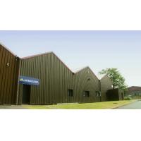 O local de produção e armazéns do fabricante do gabinete industrial.