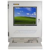 monitor LCD industrial com teclado Wedge