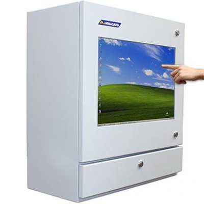 Touch Screen Industrial PC imagem principal