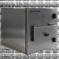 Gabinete de impressora de sala limpa de aço inoxidável da Armgard.