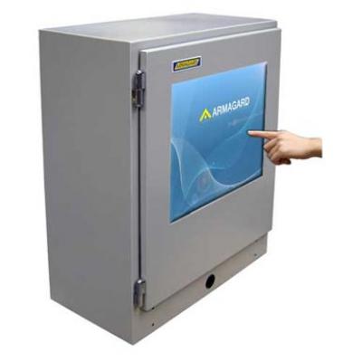 Imagem principal de gabinete de tela de toque industrial