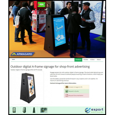 Armagard DigiStopper na ExportWorldwide e no ISE Barcelona.