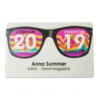 Cartões de empresa impressão de impressão de eventos