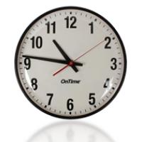 PoE Аналоговые часы спереди