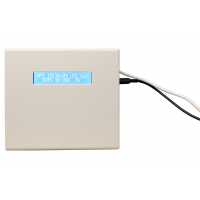 Время сетевого сервера GPS приемник фронт с подключенным кабелем,
