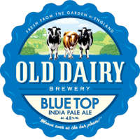 синий верх от старой молочной пивоварни, британец Pale Ale дистрибьютор