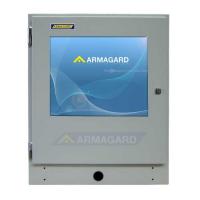 Промышленный сенсорный экран спереди спереди