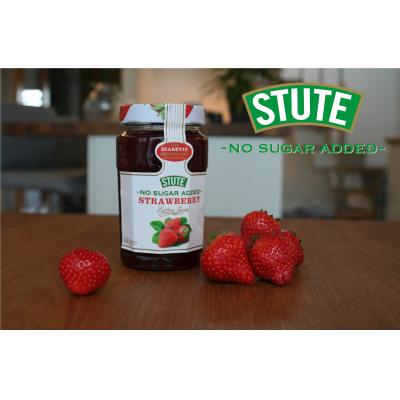 Stute Foods, оптовый торговец клубничным джемом