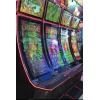 Multi touch folie applicerad på böjda spelautomater