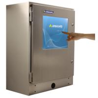 Robust pekskärm SENC-750 från Armagard