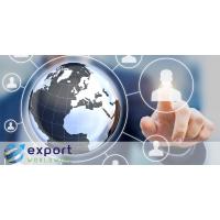 Exportera världsomspännande global marknadsplattform