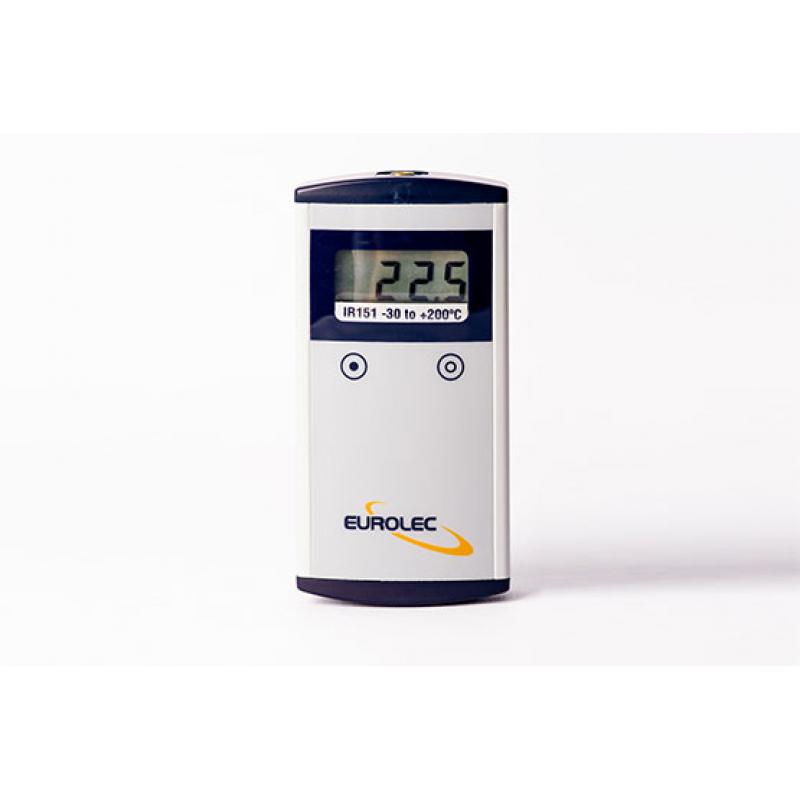 Den snabba reaktionsinfraröda termometern ger noggranna