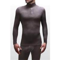 Erkek mikrofleece termal iç çamaşırı üst yumuşak ve sıcaktır.