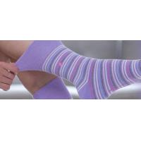 GentleGrip gelen kadınlar için pembe yumuşak çorap.